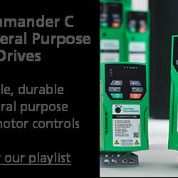 CONTROL TECHNIQUES COMMANDER C GENERAL PURPOSE AC DRIVES
